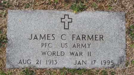 FARMER  (VETERAN WWII), JAMES C - Hamblen County, Tennessee   JAMES C FARMER  (VETERAN WWII) - Tennessee Gravestone Photos