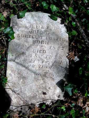 FOSTER, JULIA F. - Hamblen County, Tennessee | JULIA F. FOSTER - Tennessee Gravestone Photos