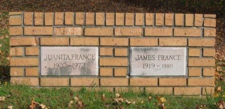 PARKER FRANCE, JUANITA - Hamblen County, Tennessee | JUANITA PARKER FRANCE - Tennessee Gravestone Photos