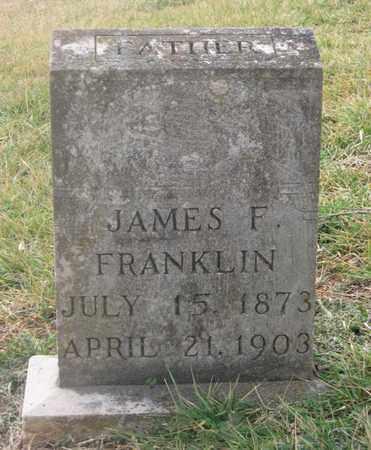 FRANKLIN, JAMES F. - Hamblen County, Tennessee   JAMES F. FRANKLIN - Tennessee Gravestone Photos