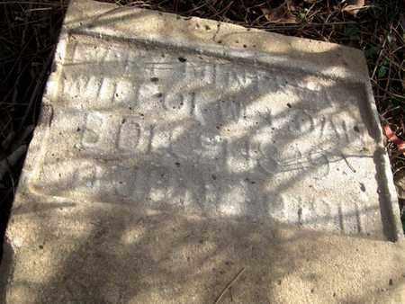 RIGGS MEFFORD GOAN, MARY MINERVA (CLOSE UP) - Hamblen County, Tennessee | MARY MINERVA (CLOSE UP) RIGGS MEFFORD GOAN - Tennessee Gravestone Photos