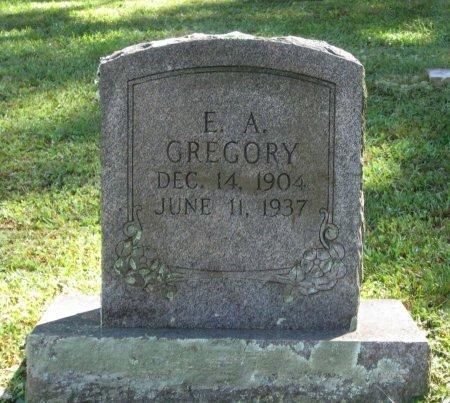 GREGORY, E. A. - Hamblen County, Tennessee | E. A. GREGORY - Tennessee Gravestone Photos