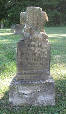 GREGORY, INFANT - Hamblen County, Tennessee | INFANT GREGORY - Tennessee Gravestone Photos