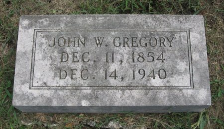 GREGORY, JOHN W. - Hamblen County, Tennessee | JOHN W. GREGORY - Tennessee Gravestone Photos