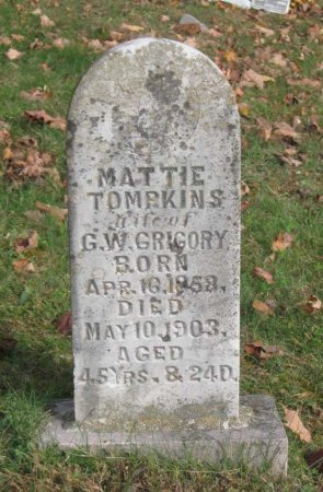 GREGORY, MATTI - Hamblen County, Tennessee | MATTI GREGORY - Tennessee Gravestone Photos