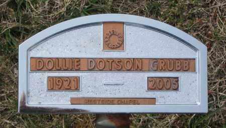 GRUBB, DOLLIE - Hamblen County, Tennessee | DOLLIE GRUBB - Tennessee Gravestone Photos