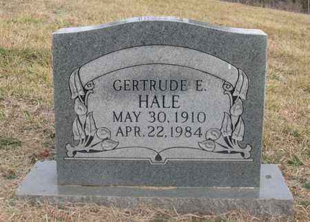 HALE, GERTRUDE E. - Hamblen County, Tennessee   GERTRUDE E. HALE - Tennessee Gravestone Photos