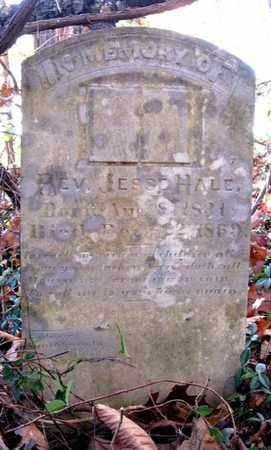 HALE, JESSE (REV.) - Hamblen County, Tennessee | JESSE (REV.) HALE - Tennessee Gravestone Photos