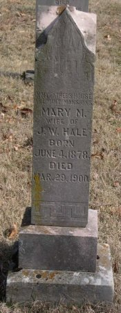 HALE, MARY M - Hamblen County, Tennessee   MARY M HALE - Tennessee Gravestone Photos