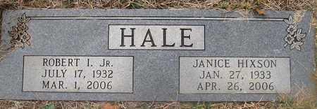 HALE, ROBERT I., JR. - Hamblen County, Tennessee | ROBERT I., JR. HALE - Tennessee Gravestone Photos
