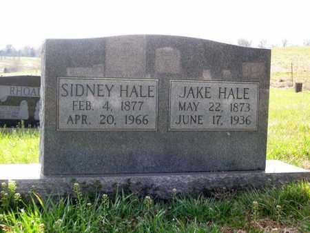 HALE, SIDNEY - Hamblen County, Tennessee | SIDNEY HALE - Tennessee Gravestone Photos