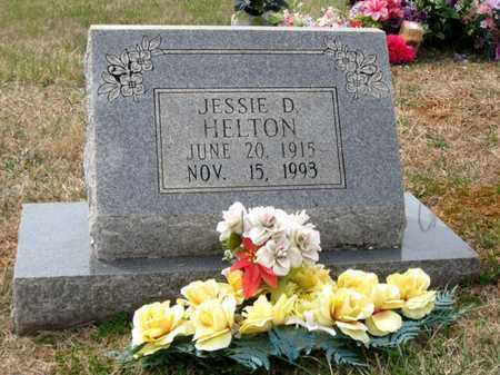 HELTON, JESSIE D. - Hamblen County, Tennessee | JESSIE D. HELTON - Tennessee Gravestone Photos