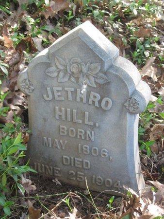 HILL, JETHRO - Hamblen County, Tennessee | JETHRO HILL - Tennessee Gravestone Photos