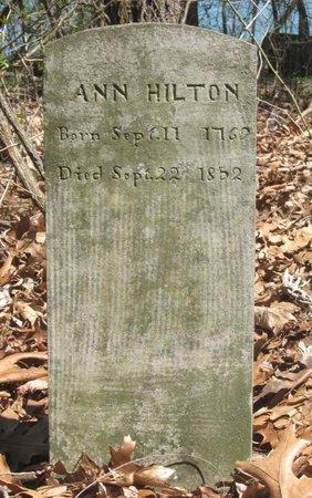 HILTON, ANN - Hamblen County, Tennessee | ANN HILTON - Tennessee Gravestone Photos