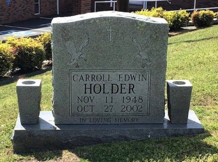 HOLDER, CARROLL EDWIN - Hamblen County, Tennessee   CARROLL EDWIN HOLDER - Tennessee Gravestone Photos