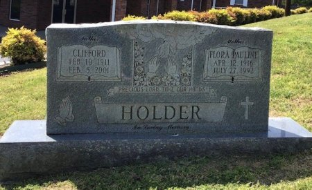 HOLDER, FLORA PAULINE - Hamblen County, Tennessee   FLORA PAULINE HOLDER - Tennessee Gravestone Photos