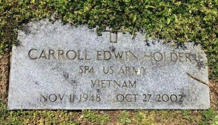 HOLDER (VETERAN VIETNAM), CARROLL EDWIN - Hamblen County, Tennessee | CARROLL EDWIN HOLDER (VETERAN VIETNAM) - Tennessee Gravestone Photos