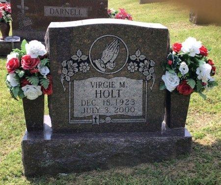 HOLT, VIRGIE M. - Hamblen County, Tennessee   VIRGIE M. HOLT - Tennessee Gravestone Photos