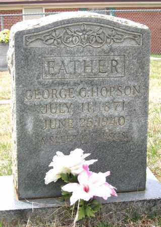 HOPSON, GEORGE C. - Hamblen County, Tennessee | GEORGE C. HOPSON - Tennessee Gravestone Photos