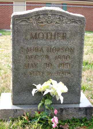 HOPSON, LAURA - Hamblen County, Tennessee | LAURA HOPSON - Tennessee Gravestone Photos