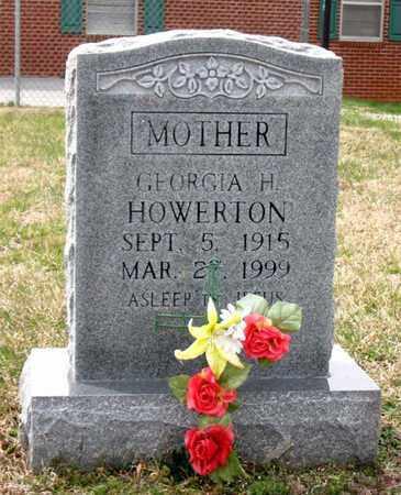 HOWERTON, GEORGIA H. - Hamblen County, Tennessee | GEORGIA H. HOWERTON - Tennessee Gravestone Photos