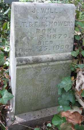 HOWERY, J. WILL - Hamblen County, Tennessee | J. WILL HOWERY - Tennessee Gravestone Photos