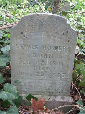 HOWERY, LEWIS - Hamblen County, Tennessee | LEWIS HOWERY - Tennessee Gravestone Photos