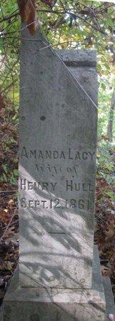 HULL, AMANDA LACY - Hamblen County, Tennessee   AMANDA LACY HULL - Tennessee Gravestone Photos