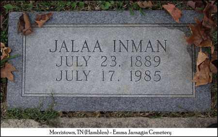 INMAN, JALAA - Hamblen County, Tennessee | JALAA INMAN - Tennessee Gravestone Photos