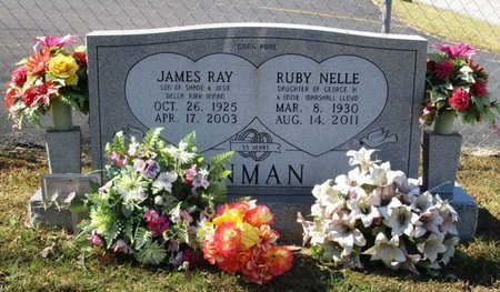 INMAN, RUBY NELLE - Hamblen County, Tennessee | RUBY NELLE INMAN - Tennessee Gravestone Photos