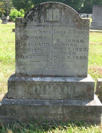 INMAN, SHADRACH - Hamblen County, Tennessee | SHADRACH INMAN - Tennessee Gravestone Photos