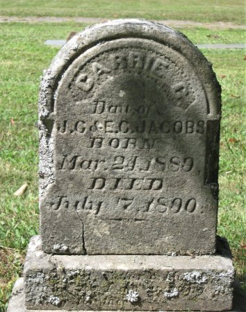 JACOBS, CARRIE C. - Hamblen County, Tennessee   CARRIE C. JACOBS - Tennessee Gravestone Photos