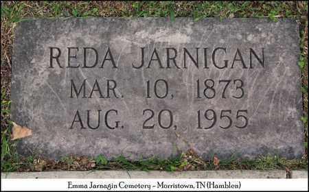 JARNIGAN, REDA - Hamblen County, Tennessee | REDA JARNIGAN - Tennessee Gravestone Photos