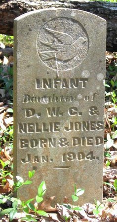 JONES, INFANT - Hamblen County, Tennessee | INFANT JONES - Tennessee Gravestone Photos