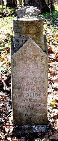 JONES, NANCY E. - Hamblen County, Tennessee | NANCY E. JONES - Tennessee Gravestone Photos