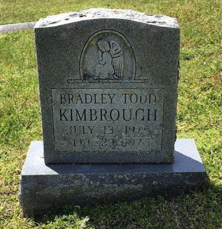 KIMBROUGH, BRADLEY TODD - Hamblen County, Tennessee | BRADLEY TODD KIMBROUGH - Tennessee Gravestone Photos