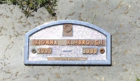 KIMBROUGH, KIONNA - Hamblen County, Tennessee   KIONNA KIMBROUGH - Tennessee Gravestone Photos