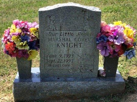 KNIGHT, MARSHAL COREY - Hamblen County, Tennessee   MARSHAL COREY KNIGHT - Tennessee Gravestone Photos
