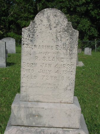 LANE, CATHARINE E. - Hamblen County, Tennessee | CATHARINE E. LANE - Tennessee Gravestone Photos