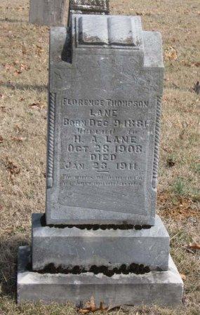 THOMPSON LANE, FLORENCE - Hamblen County, Tennessee | FLORENCE THOMPSON LANE - Tennessee Gravestone Photos