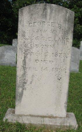 LANE, GEORGE B. - Hamblen County, Tennessee | GEORGE B. LANE - Tennessee Gravestone Photos
