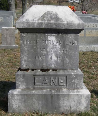 LANE, JOSEPH FURMAN - Hamblen County, Tennessee   JOSEPH FURMAN LANE - Tennessee Gravestone Photos