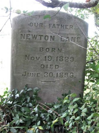 LANE (VETERAN CSA), NEWTON - Hamblen County, Tennessee | NEWTON LANE (VETERAN CSA) - Tennessee Gravestone Photos
