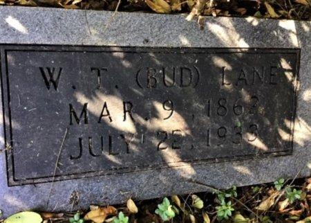 "LANE, WILLIAM T. ""BUD"" - Hamblen County, Tennessee   WILLIAM T. ""BUD"" LANE - Tennessee Gravestone Photos"