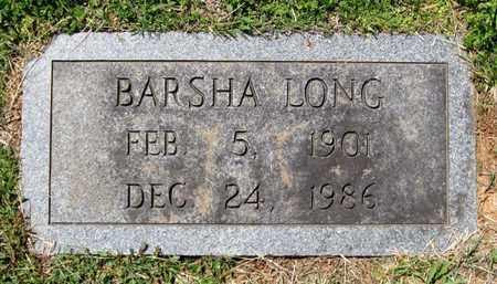LONG, BARSHA - Hamblen County, Tennessee | BARSHA LONG - Tennessee Gravestone Photos