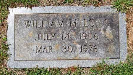 LONG, WILLIAM M. - Hamblen County, Tennessee | WILLIAM M. LONG - Tennessee Gravestone Photos