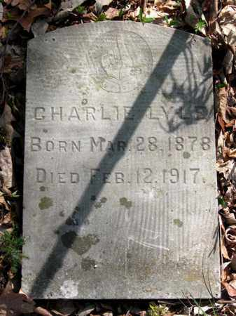 LYLE, CHARLIE - Hamblen County, Tennessee | CHARLIE LYLE - Tennessee Gravestone Photos