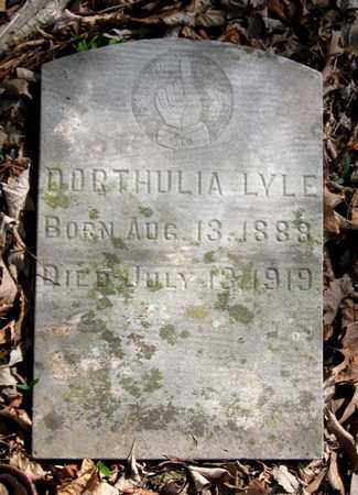 LYLE, DORTHULIA - Hamblen County, Tennessee | DORTHULIA LYLE - Tennessee Gravestone Photos
