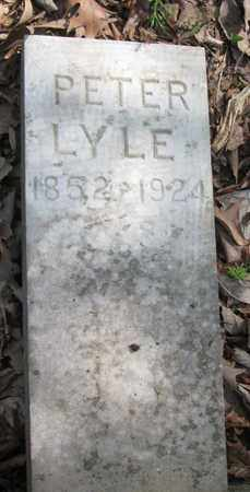 LYLE, PETER - Hamblen County, Tennessee | PETER LYLE - Tennessee Gravestone Photos