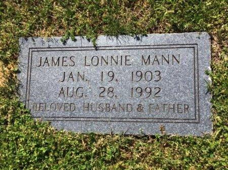 MANN, JAMES LONNIE - Hamblen County, Tennessee | JAMES LONNIE MANN - Tennessee Gravestone Photos